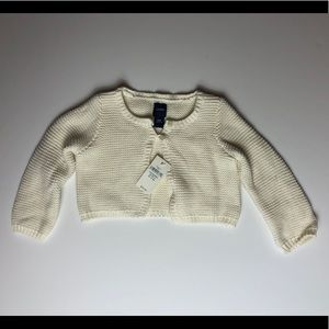 Baby Gap NWT Cream Sweater